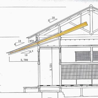 旧岩崎邸和館の深い屋根_c0195909_11433857.jpg