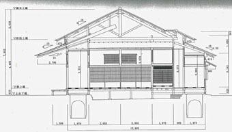 旧岩崎邸和館の深い屋根_c0195909_11434211.jpg