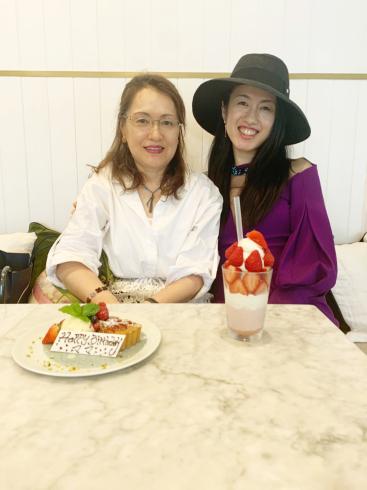 ママのお誕生日祝い!_c0113713_02313585.jpg