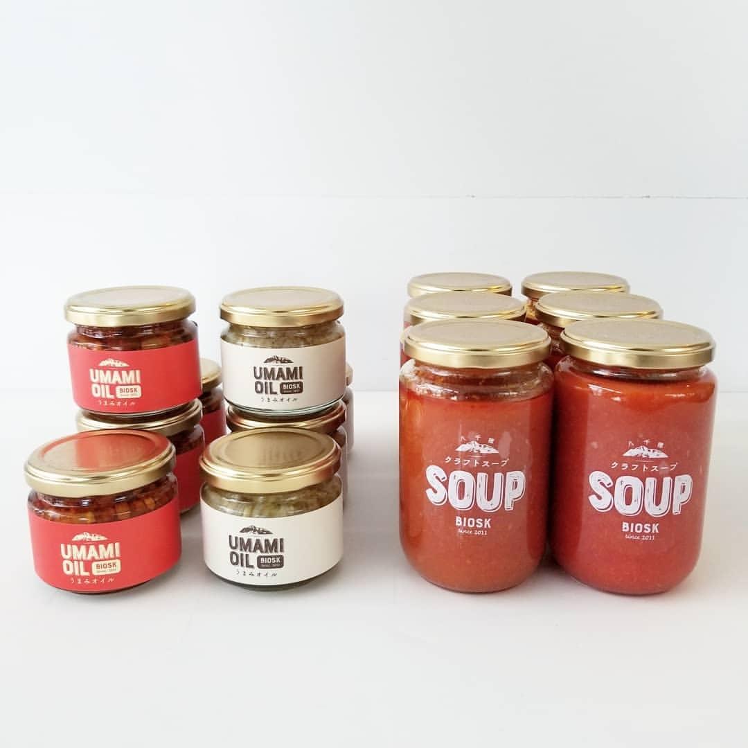 「クラフトスープ」と「食べるラー油」_f0120026_14000579.jpg