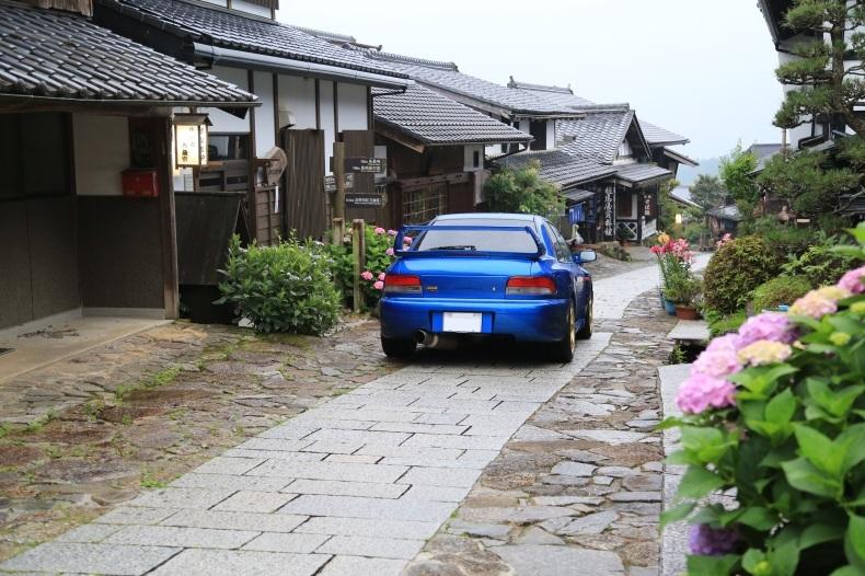 インプレッサWRX STI 20Bと雨の中津川_f0076731_18205104.jpg
