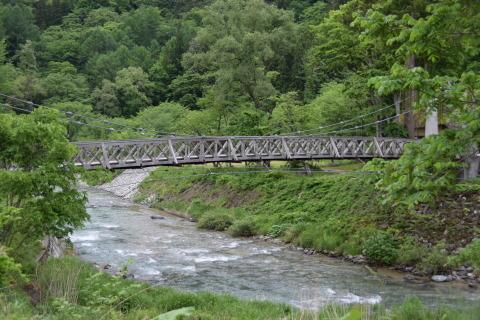 初夏の八方尾根登山(4)山麓の風景_a0147436_11033576.jpg