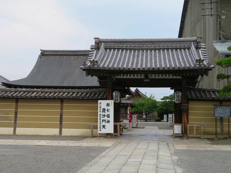 東寺の伽藍の風景20190703_e0237645_22561469.jpg
