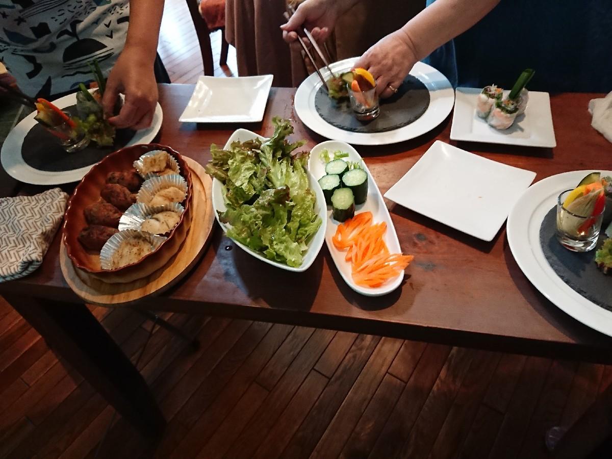 7月の料理教室&サンキャッチャー講座始まりました。_f0323446_23151020.jpg