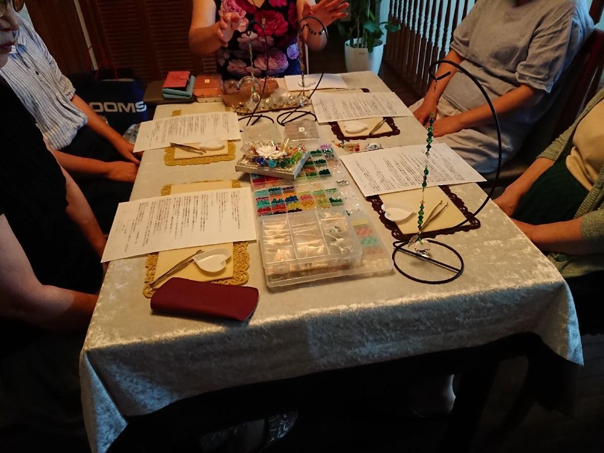 7月の料理教室&サンキャッチャー講座始まりました。_f0323446_23163034.jpg