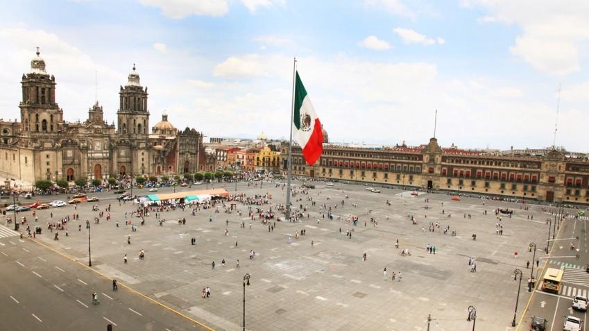 中南米の旅/68 アステカ遺跡の上に建つメトロポリタン大聖堂@メキシコシティ_a0092659_22435250.jpg
