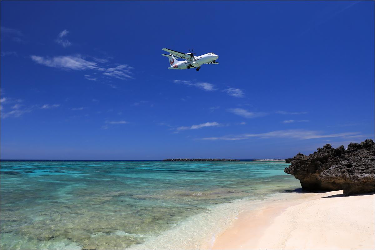東洋の真珠 1 - 与論空港_c0308259_01051224.jpg