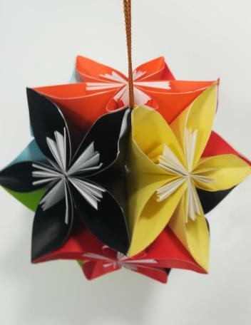 origamiアート2_f0283066_15161878.jpg