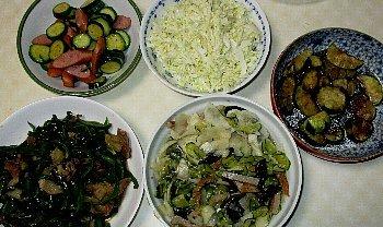 7月3日「野菜尽くし」_f0003283_07425995.jpg