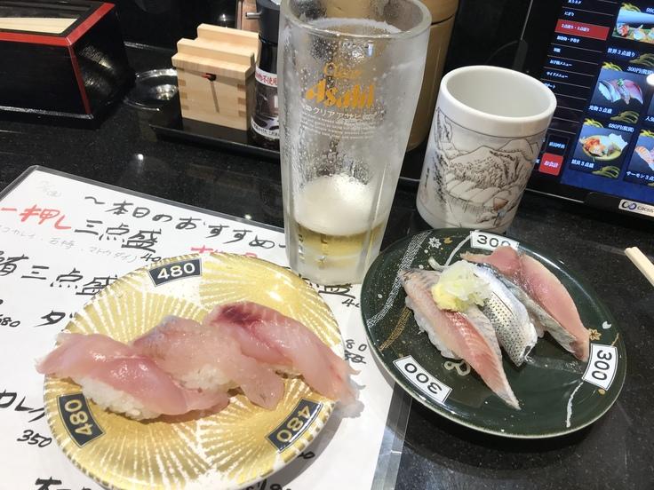 飲みホーダイ500円?!@独楽寿司(八王子)_c0212604_1354094.jpg