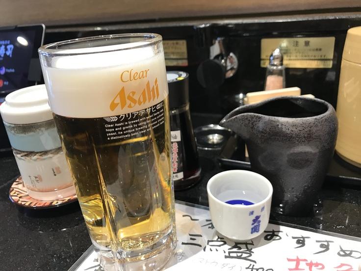 飲みホーダイ500円?!@独楽寿司(八王子)_c0212604_1443362.jpg