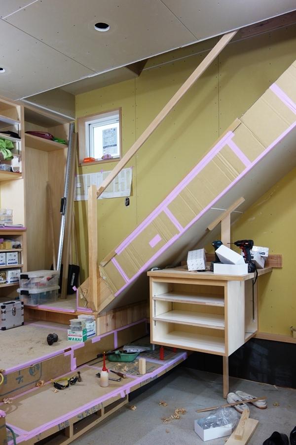 「荒川の家Ⅲ」塗装工事_b0142417_17240418.jpg
