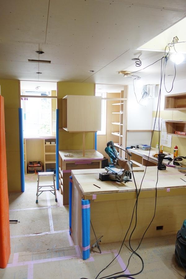 「荒川の家Ⅲ」塗装工事_b0142417_17240425.jpg