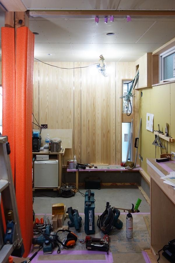 「荒川の家Ⅲ」塗装工事_b0142417_17275043.jpg
