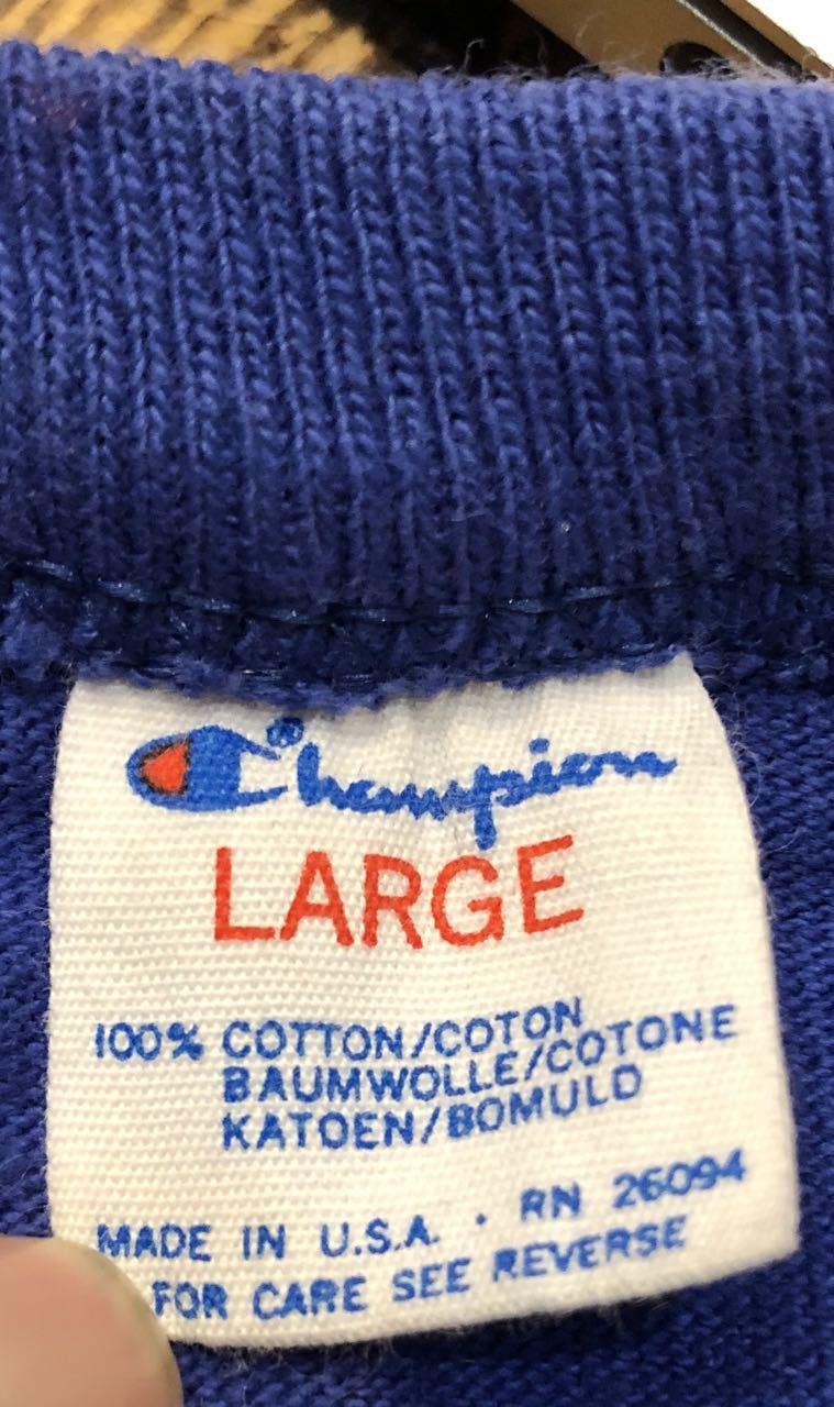 7月6日(土)80s チャンピオン all cotton  トリコタグ JEFFERSON TRACK  Tシャツ! _c0144020_14104797.jpg