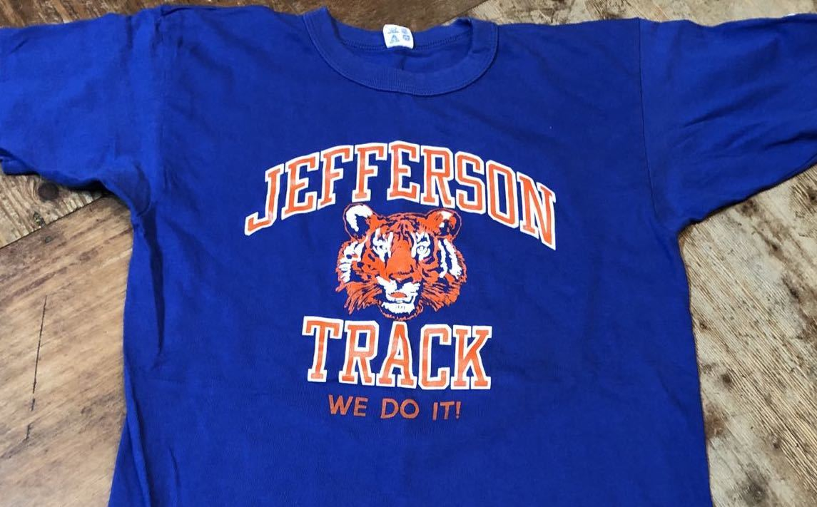 7月6日(土)80s チャンピオン all cotton  トリコタグ JEFFERSON TRACK  Tシャツ! _c0144020_14120620.jpg