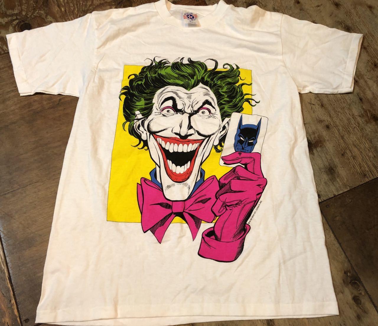 7月6日(土)80s レア プリント  BATMAN JOKER Tシャツ! _c0144020_14160503.jpg