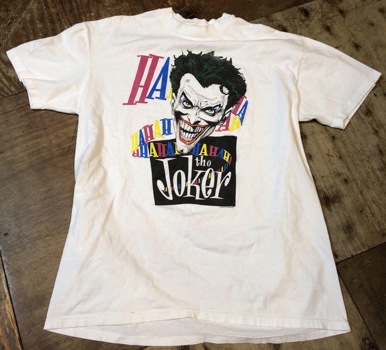 7月6日(土)80s レア プリント  BATMAN JOKER Tシャツ! _c0144020_14170999.jpg