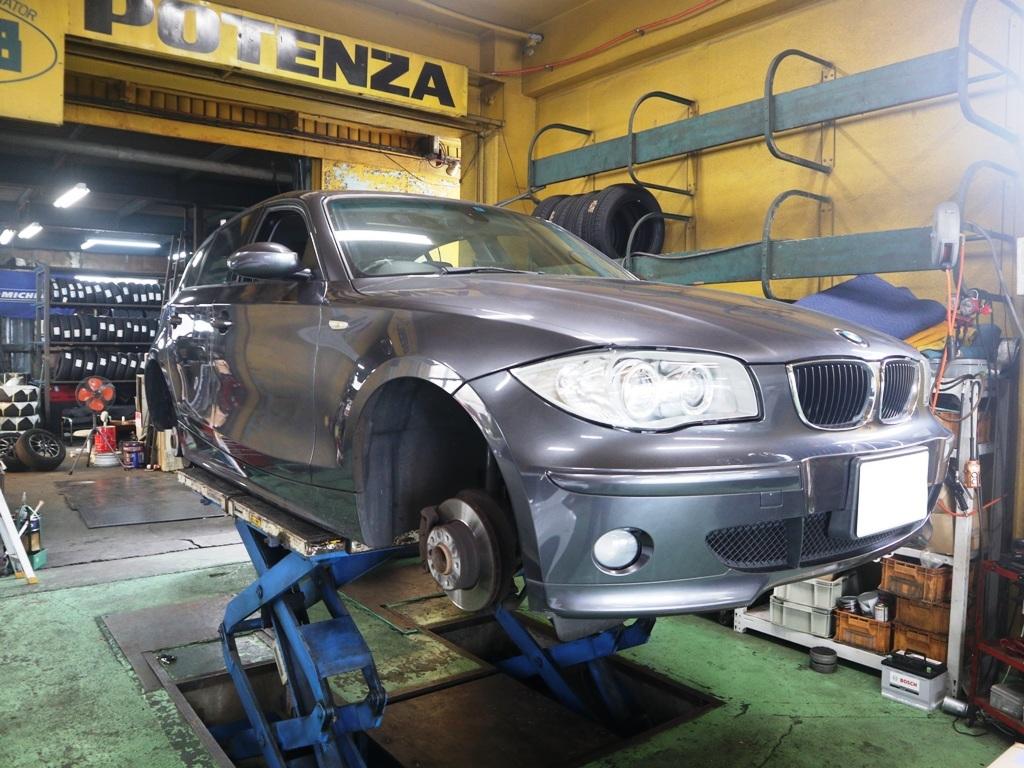 BMW E87系118iをリフレッシュ_e0188729_14511415.jpg