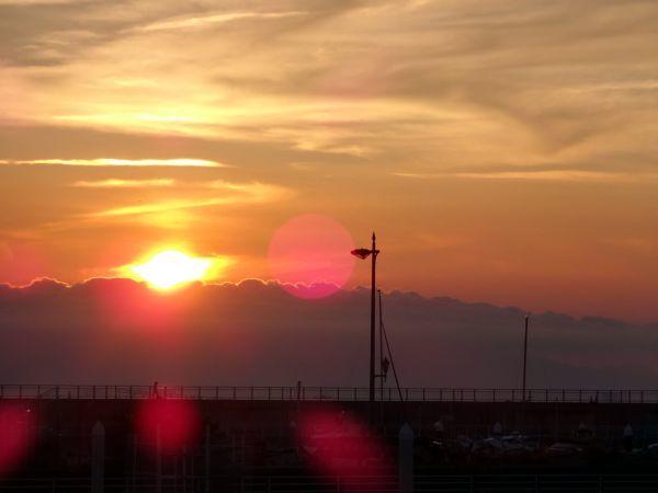 和歌山マリーナシティの夕暮れ_d0145934_20055134.jpg