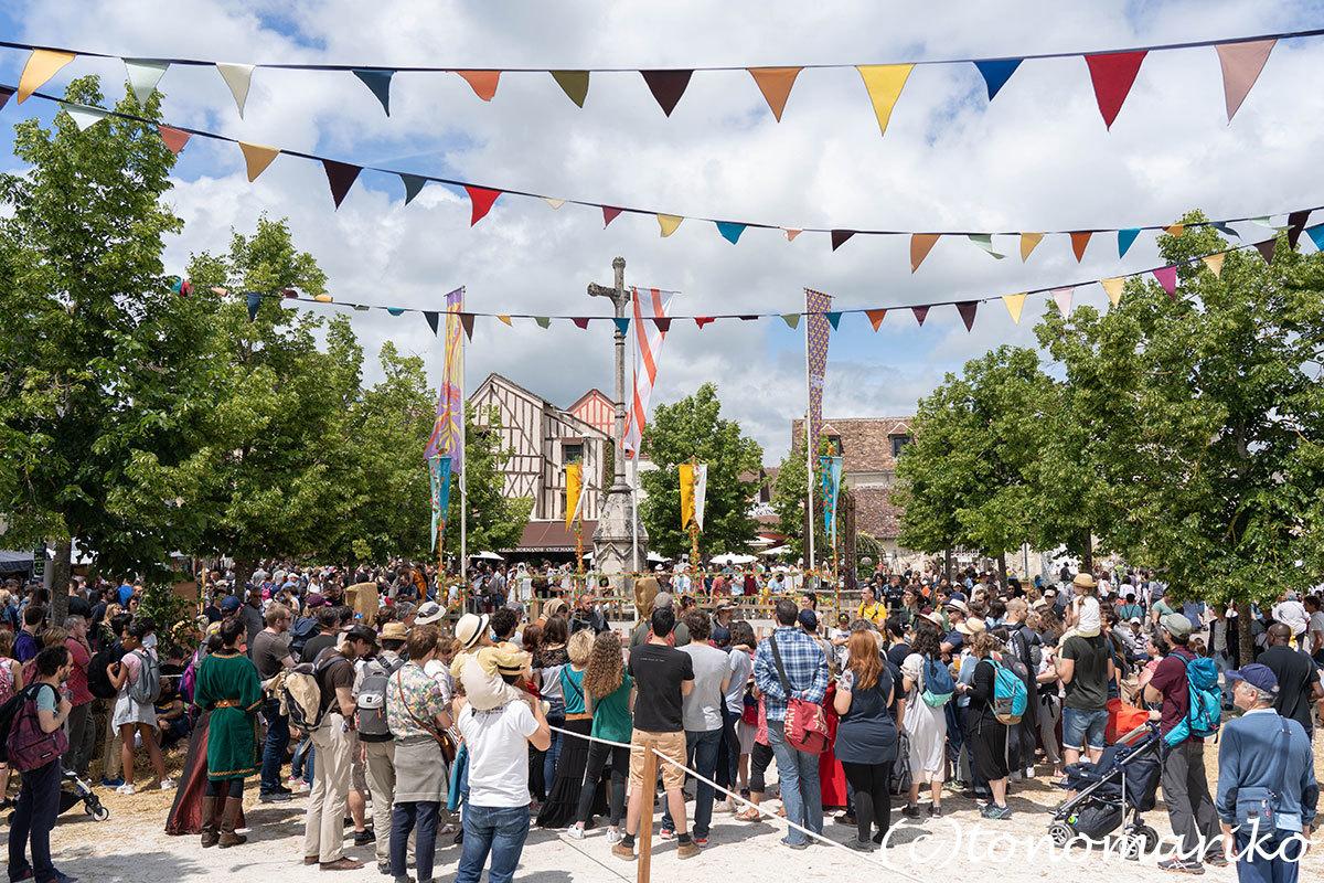 世界遺産の町、プロヴァンの「中世祭り」へ_c0024345_02544759.jpg