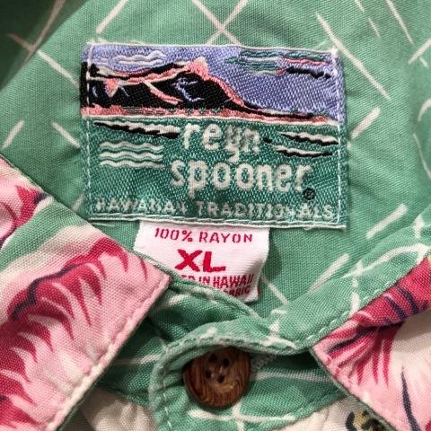 """1980s \"""" reyn spooner - Diamond Head Tag - \"""" 100% RAYON VINTAGE - HAWAIIAN SHIRTS - ._d0172088_19200700.jpg"""