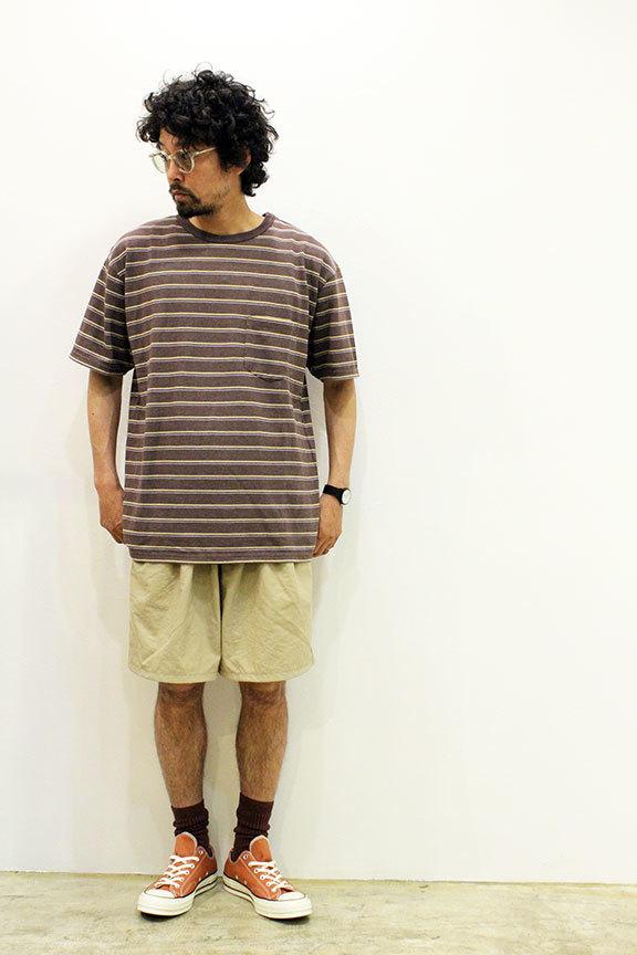 "COMFORTABLE REASON (コンフォータブルリーズン) \"" Pile pocket 2tuck Nylon shorts \"" Exclusive_b0122806_12473640.jpg"