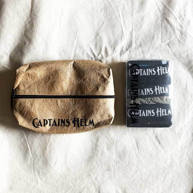 CAPTAINS HELM / キャプテンズヘルム #2PACK TEE & 3PACK UNDER PANTS_c0140709_16525802.jpg