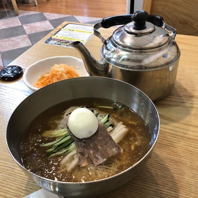19年6月ソウル その7☆蒸し暑い日は冷麺でしょ!_d0285416_07200346.jpg