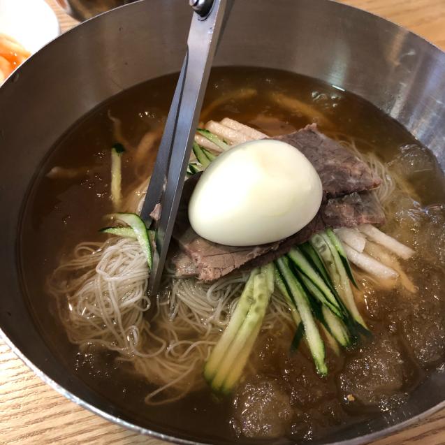 19年6月ソウル その7☆蒸し暑い日は冷麺でしょ!_d0285416_07200467.jpg