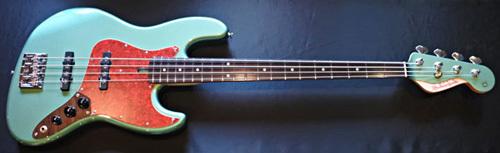 「Tool Green Pearl MetallicのStandard-J」1本目が完成!_e0053731_16221436.jpg