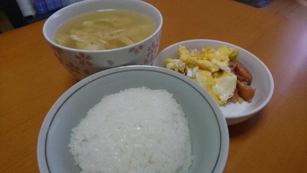 朝食。いつも_b0106766_13512144.jpg