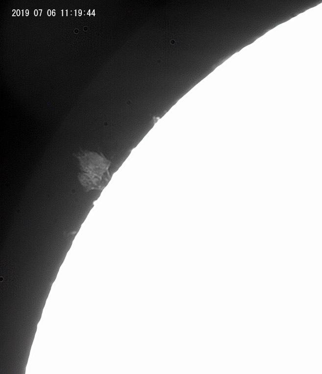 7月6日の太陽_e0174091_12364675.jpg