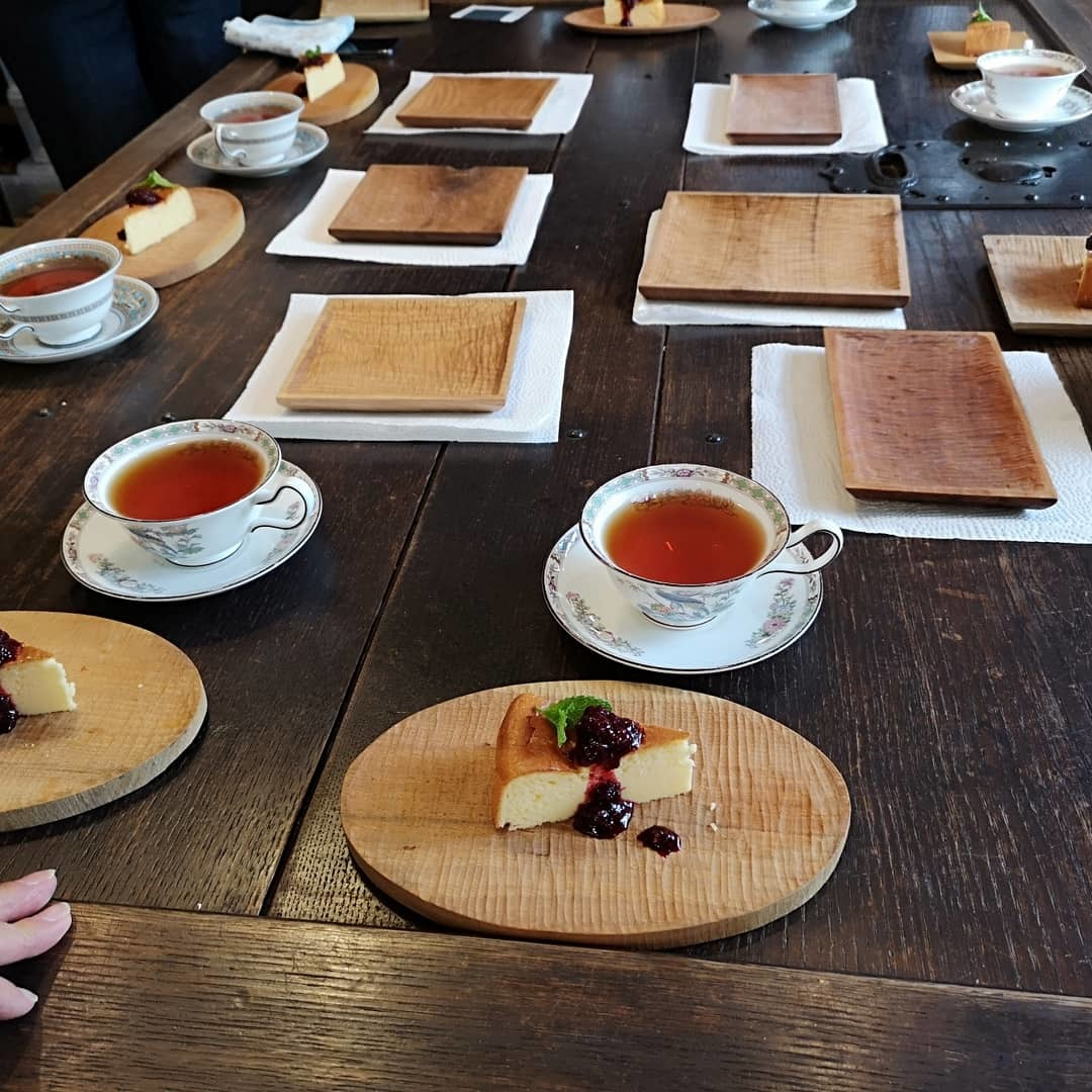 くるみの木のパン皿作りワークショップ_e0187897_22202640.jpg