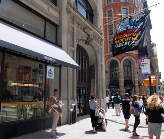 WeWorkによるカフェ、小売店、シェアオフィスが1つになった新しいタイプのお店 Made BY We_b0007805_08122645.jpg