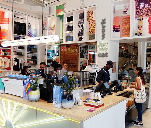 WeWorkによるカフェ、小売店、シェアオフィスが1つになった新しいタイプのお店 Made BY We_b0007805_08125149.jpg
