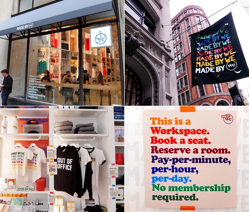 WeWorkによるカフェ、小売店、シェアオフィスが1つになった新しいタイプのお店 Made BY We_b0007805_08140039.jpg