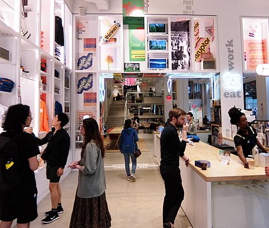 WeWorkによるカフェ、小売店、シェアオフィスが1つになった新しいタイプのお店 Made BY We_b0007805_08142386.jpg