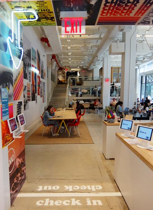 WeWorkによるカフェ、小売店、シェアオフィスが1つになった新しいタイプのお店 Made BY We_b0007805_08143986.jpg