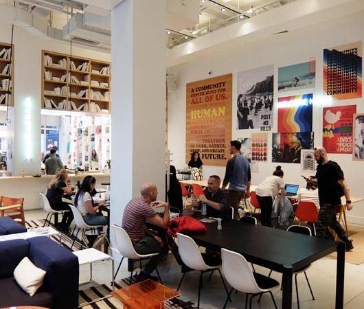 WeWorkによるカフェ、小売店、シェアオフィスが1つになった新しいタイプのお店 Made BY We_b0007805_08145747.jpg