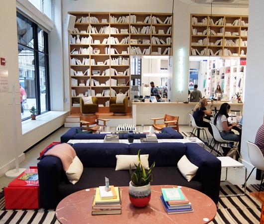 WeWorkによるカフェ、小売店、シェアオフィスが1つになった新しいタイプのお店 Made BY We_b0007805_08153137.jpg