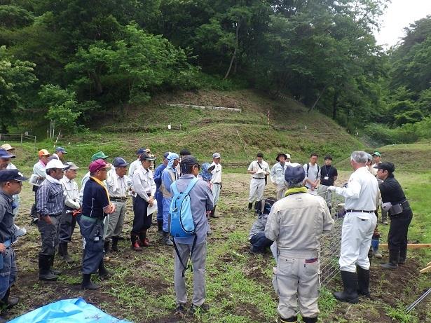 鳥獣被害対策研修会inかわうち_d0003224_10393910.jpg