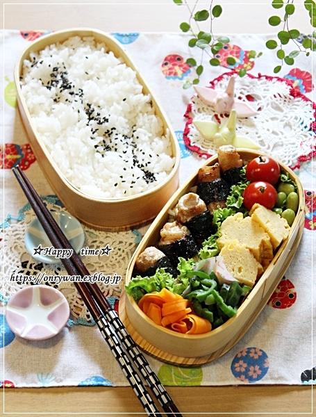 豚肉海苔巻き弁当と今週の作りおき♪_f0348032_16490338.jpg