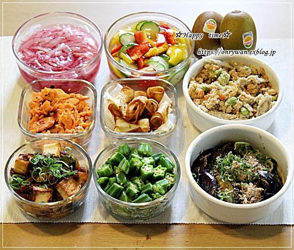 豚肉海苔巻き弁当と今週の作りおき♪_f0348032_16492041.jpg