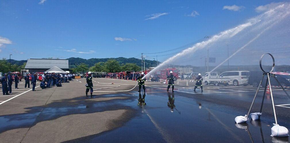 消防訓練大会_f0081443_15265815.jpg