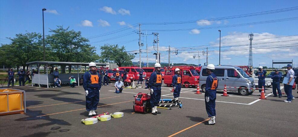 消防訓練大会_f0081443_15420032.jpg