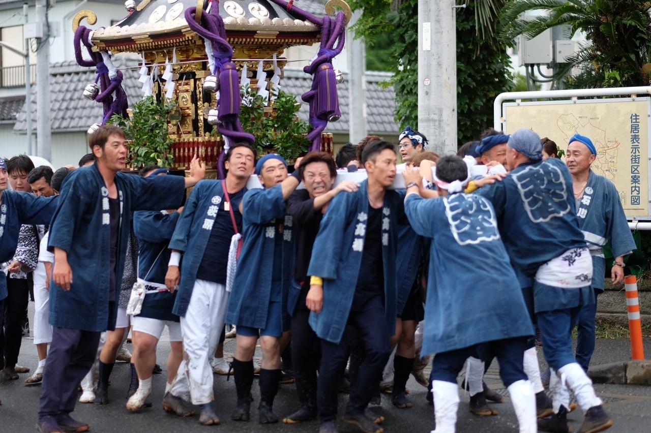 令和元年 秋谷神明社御祭禮−6_f0156448_19412724.jpg