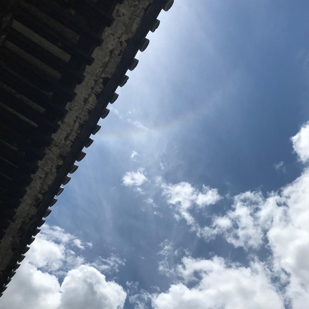 通し矢の空に、虹_c0113755_18171280.jpeg