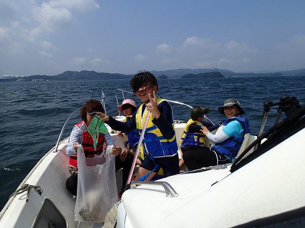 波多津の子供会とシーバード♡_a0077071_13104008.jpg