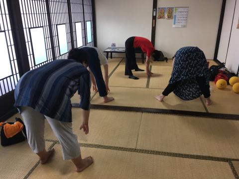 2019.7.8 健康体操体験実施中♬_f0309404_16250137.jpg